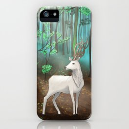 Halla in the forest iPhone Case