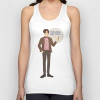 doctor who Tank Tops featuring Doctor Who by Pulvis