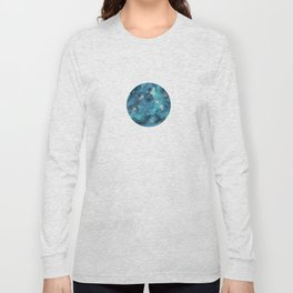 Aries zodiac constellation on the light background Long Sleeve T-shirt