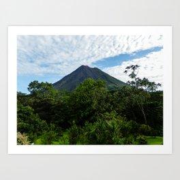 Arenal Volcano Costa Rica Art Print