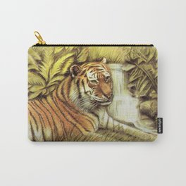 Tiger in free Wilderness Carry-All Pouch