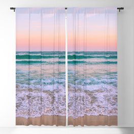 Ocean and Sunset Needed Blackout Curtain