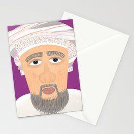 Old Omani Man Stationery Cards