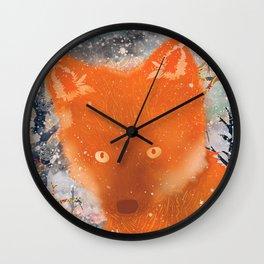 Foxxx Wall Clock