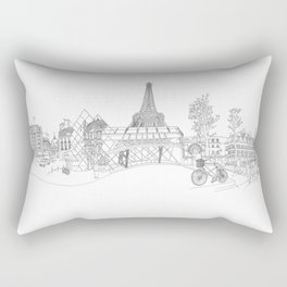 Paris! Version#1 Rectangular Pillow