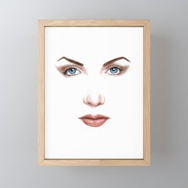 desertartist Framed Mini Art Print