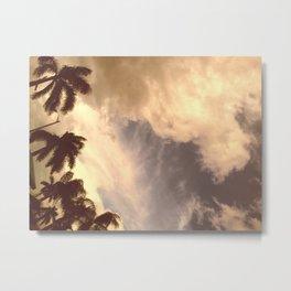 palm isles sky Metal Print
