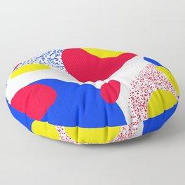 Primary Dots Floor Pillow