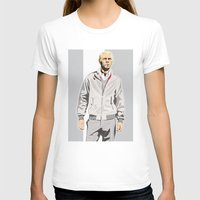 steve mcqueen T-shirts featuring Steve McQueen by drawgood