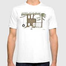 Tree Fort Mens Fitted Tee White MEDIUM
