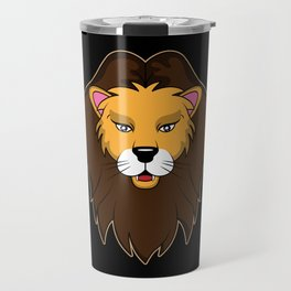 Cute Baby tiger paw smile wildcat Lions Mane gift Travel Mug