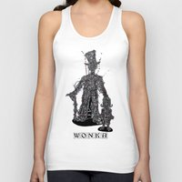 willy wonka Tank Tops featuring WOnkA by Nicholas Price