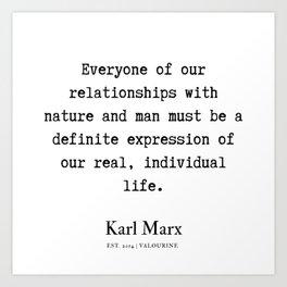 68  | Karl Marx Quotes | 190817 Art Print