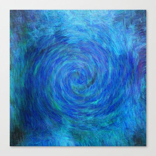 Into Blue Canvas Print