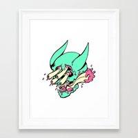 manga Framed Art Prints featuring manga. by KillGorgons