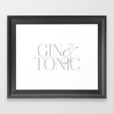 Gin II Framed Art Print