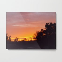 Northern Sunset  Metal Print