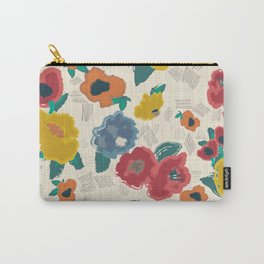 Ad Lib Blooms Shout Carry-All Pouch