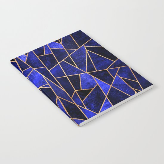 Shattered Sapphire Notebook