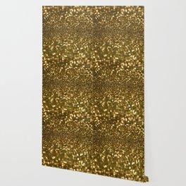 Gold Sparkle Pattern Wallpaper