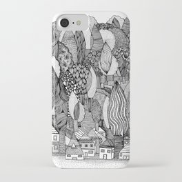 Mysterious Village iPhone Case