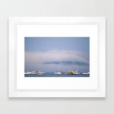 A Blue Summer Day Framed Art Print