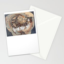 The Window into Infinity Stationery Cards