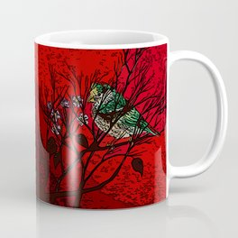 A bird in the bush Coffee Mug