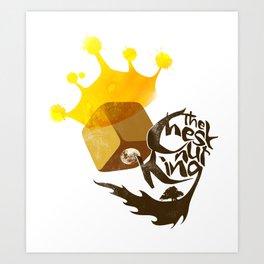 The Chestnut King Art Print