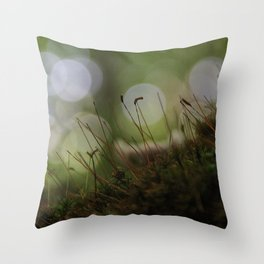 Abstract Nature I Throw Pillow