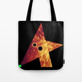 Wolf, Exploring Space Tote Bag