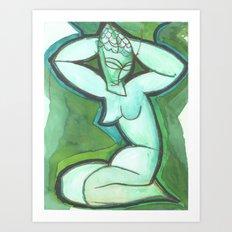 Caryatid#1 Art Print
