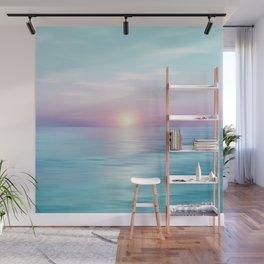 Calm sunset Wall Mural