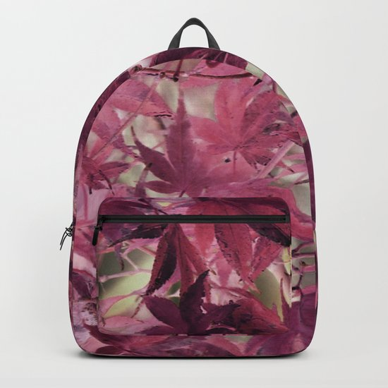 Red Fall Backpack