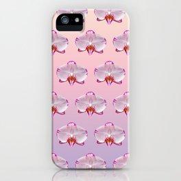 Orchid Portrait iPhone Case