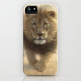 Lions Running - Eat My Dust iPhone Case