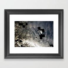 Sky Surrealism. Framed Art Print