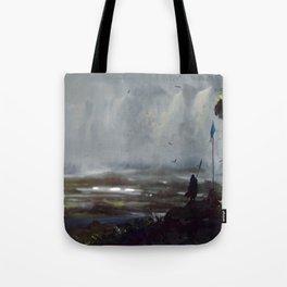 Ashfall Tote Bag