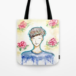 Phil Lester - Flowers Tote Bag
