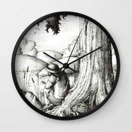 Summer afternoon Wall Clock