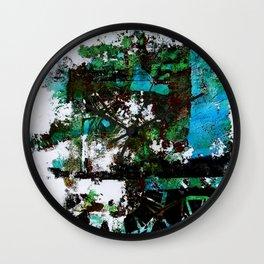 Faded Times Wall Clock