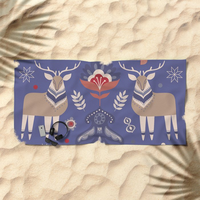 WINTER LANDSCAPE 2 Beach Towel