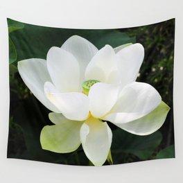 White Lotus Wall Tapestry