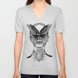 Butterfly Kisses Unisex V-Neck