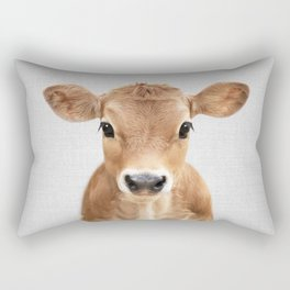Calf - Colorful Rectangular Pillow