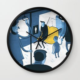 preferential seat Wall Clock