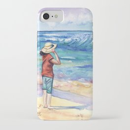 Another Nice Day at the Beach iPhone Case