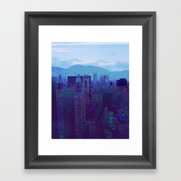 They Rise Like Mountains  Framed Art Print