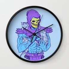 Masters of the Meowniverse Wall Clock
