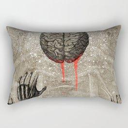 Brains Rectangular Pillow